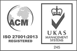ACM UKAS ISO:27001:2013